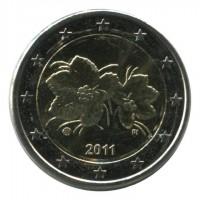Монета 2 евро, 2011 год, Финляндия.