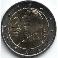 Монета 2 евро, 2012 год, Австрия.