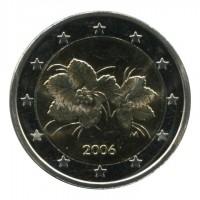 Монета 2 евро, 2006 год, Финляндия.
