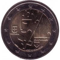 Гимарайнш — Культурная столица Европы. Монета 2 евро, 2012 год, Португалия.