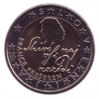 Монета 2 евро, 2007 год, Словения.