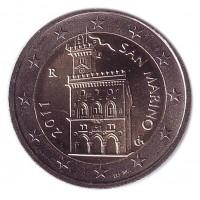 Монета 2 евро, 2011 год, Сан-Марино.