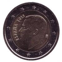 Монета 2 евро. 2015 год, Испания.