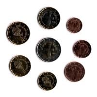 Набор монет евро (8 шт). Кипр, 2009 год.