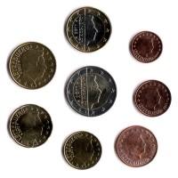 Набор монет евро (8 шт). 2011 год, Люксембург.