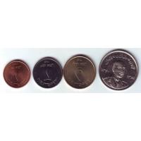 Набор монет Афганистана (4 шт.), Афганистан.