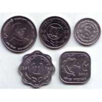 Набор монет Бангладеша (5 шт.), Бангладеш.