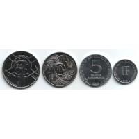 Набор монет Бурунди (4 шт.) 1980-2011 гг., Бурунди.
