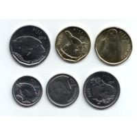 Набор монет Фиджи (6 шт.). 2012 год, Фиджи.