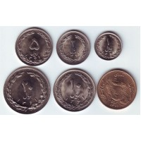 Набор монет Ирана. (6 шт.), Иран.