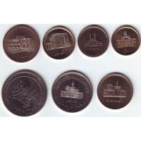 Набор монет Ирана. (7 шт.), Иран.