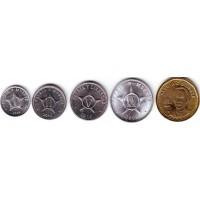Набор монет Кубы. (5 шт.), 2008-2013 гг., Куба.