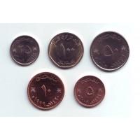 Набор монет Омана (5 шт.). 1984-2010 гг, Оман.