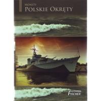 Военные корабли Польши. Набор из 8 монет в буклете. 2 злотых, 2012 - 2013 гг., Польша.