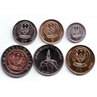 Набор монет Руанды. 2003-2009 гг., Руанда.