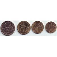 Набор монет Сербии (4 шт.), 2011-2012гг., Сербия.