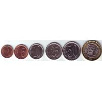 Набор монет Венесуэлы (6 шт.) 2009-2012 гг., Венесуэла.