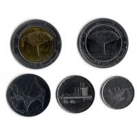 Набор монет Йемена (5 шт.). 1993-2009 гг, Йемен.