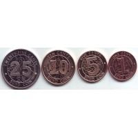 Набор монет Зимбабве (4 шт.), 2014 год.