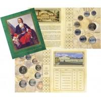 Набор разменных монет России (7шт.) 2009 год, СПМД, в буклете